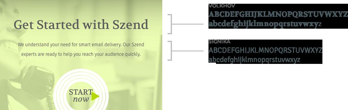 2001 Digizent Portfolio Brand Szend Fonts