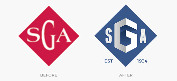 Before And After Logos Sga