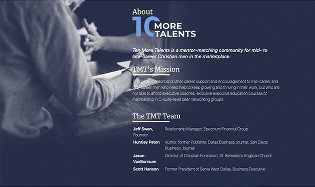 10 More Talents - Screens
